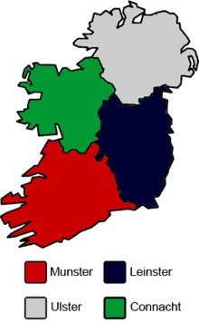 Irish Rugby Regions