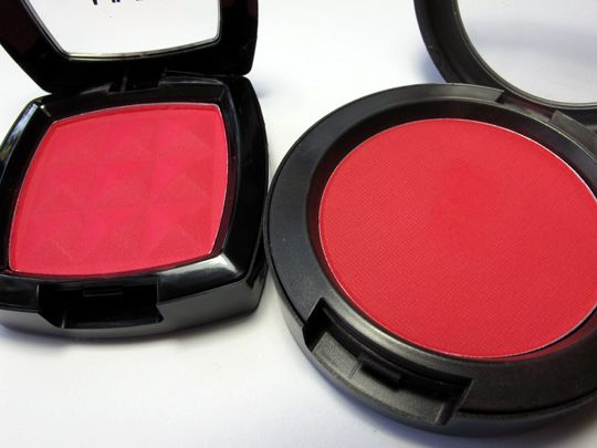 Adventures in Drugstore Makeup: NYX Blush Dupes for Two Icons from MAC and NARS | Makeup and Beauty Blog