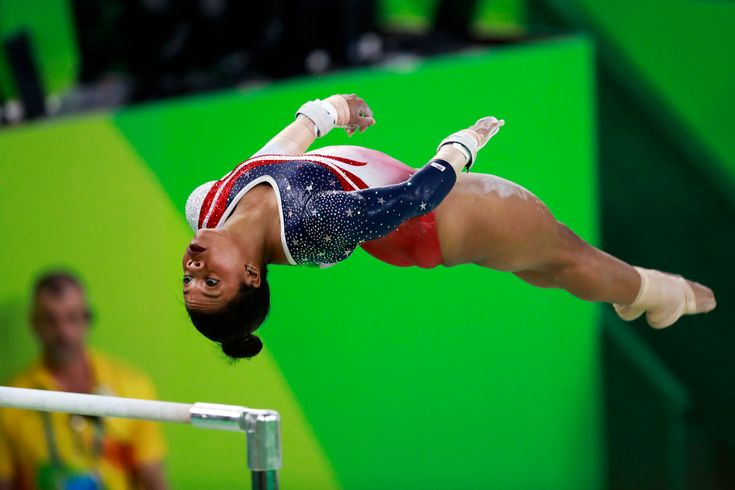Led by the world's best gymnast, Simone Biles, the powerhouse American women's gymnastics team romped to the gold medal at the Rio Olympics on Tuesday.