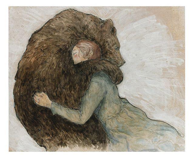 bear hug by Natalie Ruka