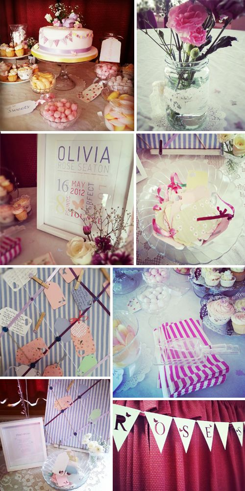 christening party decoration ideas
