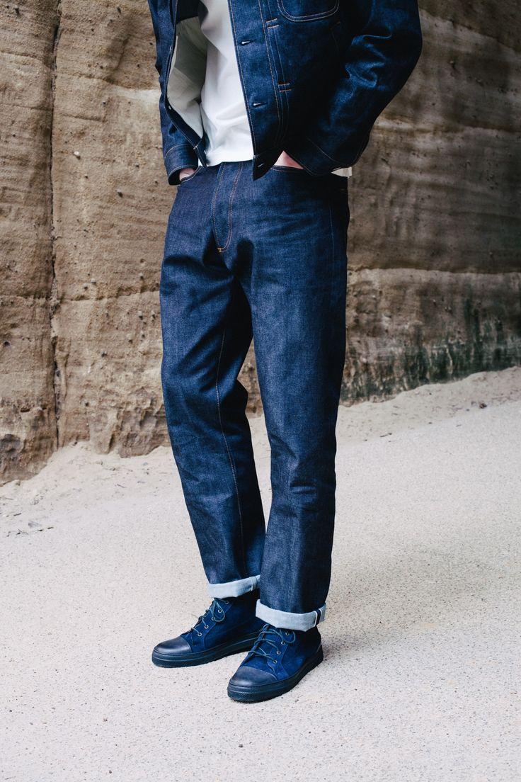 Universal Works Workshop Denim Indigo Regular Fit Jeans in Selvedge Denim | Universal Works