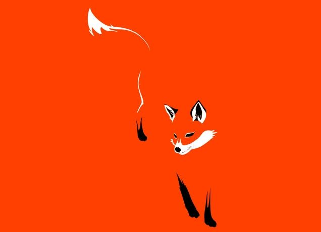 """Foxy"" - Threadless.com - Best t-shirts in the world"