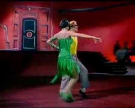"""One of my favorite moments from """"Singing In The Rain""""--the Cyd Charisse portion. She so brought it."""