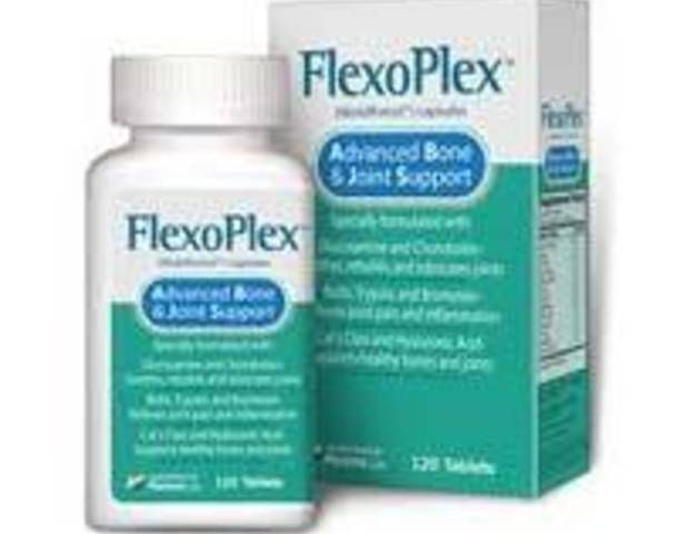 Q: How many tablets are in a bottle of Flexoplex?  A: Each bottle of Flexoplex™ contains 120 Tablets