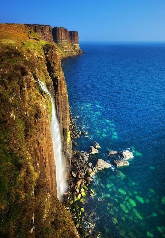 Kilt Rock & Mealt Waterfall, Isle of Skye, Scotland