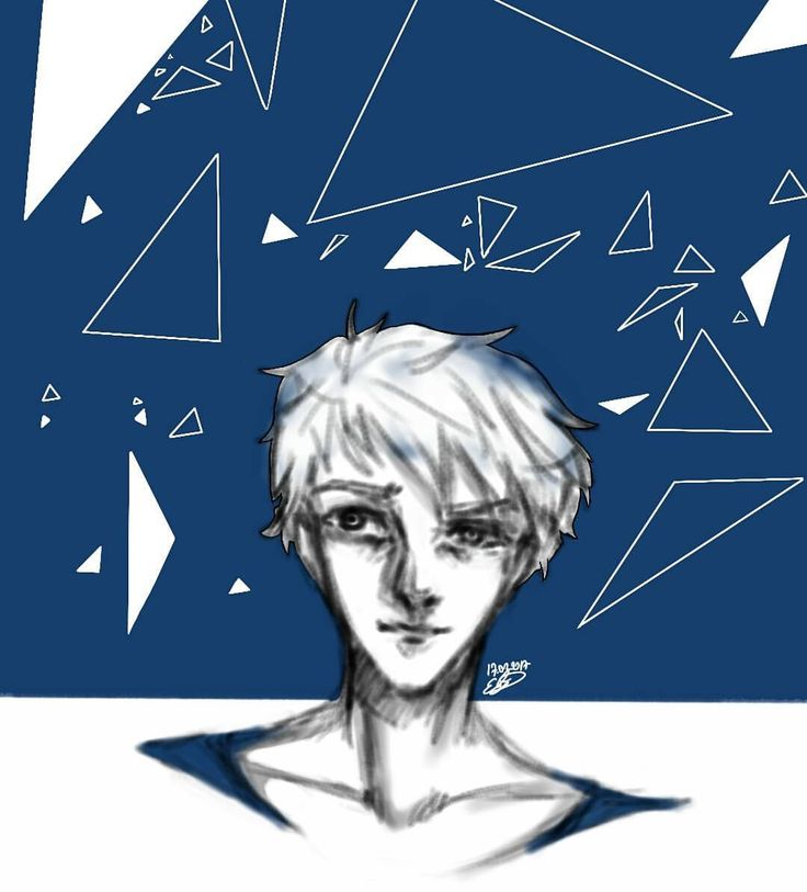•• #oc #samsungnote3 #anime #manga #bishounen #animeboy #art🎨 #triangles #animeboy #drawing #doodle #sketches #man #autodesksketchbook #art #blue #white