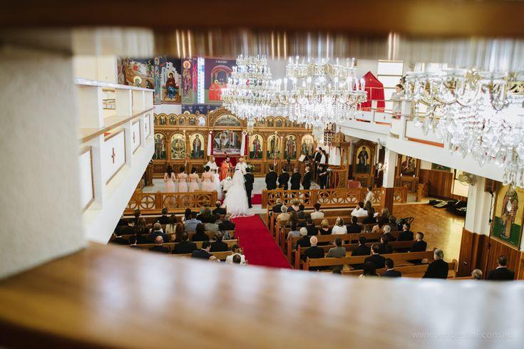 Beautiful All Saints Greek Orthodox Church Wedding