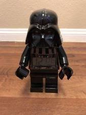 "Lego Star Wars 9"" Darth Vader Action Figure Portable Digital Lighted Alarm Clock"