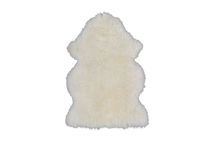 Rens Sheepskin, $29.99This wool rug may look dainty, but it's actually made of wool, which is soil-repellent and super durable.
