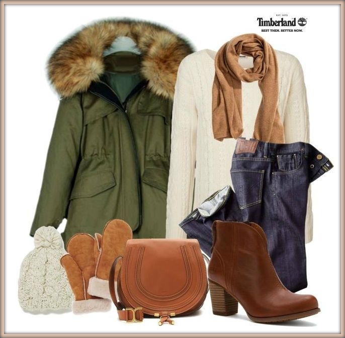 Timberland Trenton boot outfit. Do you like it? :-D