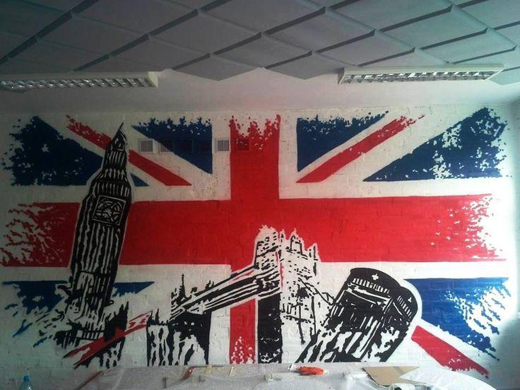 warsaw , schhol graffiti inisde