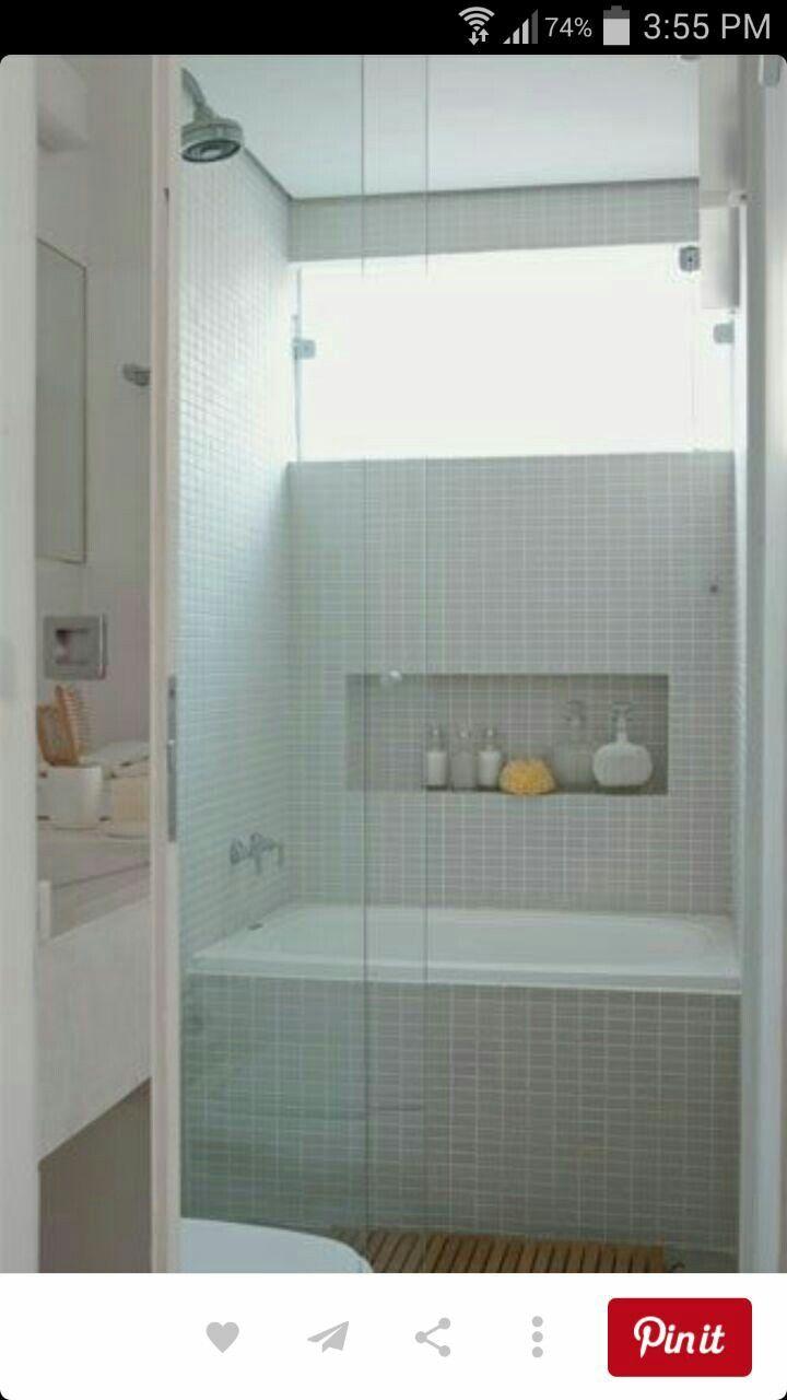 11 best shower over hidden bath images on Pinterest | Bathrooms ...