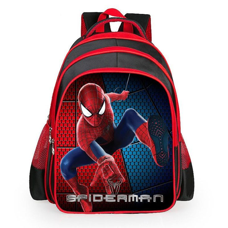 $24.80 (Buy here: https://alitems.com/g/1e8d114494ebda23ff8b16525dc3e8/?i=5&ulp=https%3A%2F%2Fwww.aliexpress.com%2Fitem%2F2016-Hot-Cartoon-Spiderman-Backpacks-For-Kids-Children-School-Bags-Primary-Backpack-Boy-Mochila-Escolar%2F32719011658.html ) 2016 Hot Cartoon Spiderman Backpacks For Kids Children School Bags Primary Backpack Boy Mochila Escolar for just $24.80