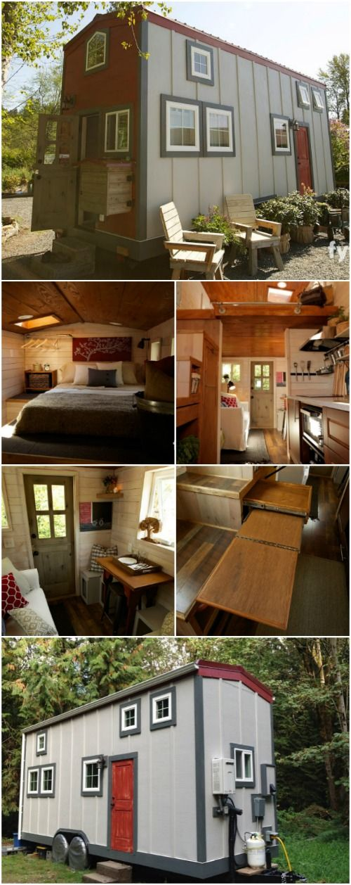 tiny house nation featured barn inspired 300 sq ft tiny house for sale - Little Houses For Sale