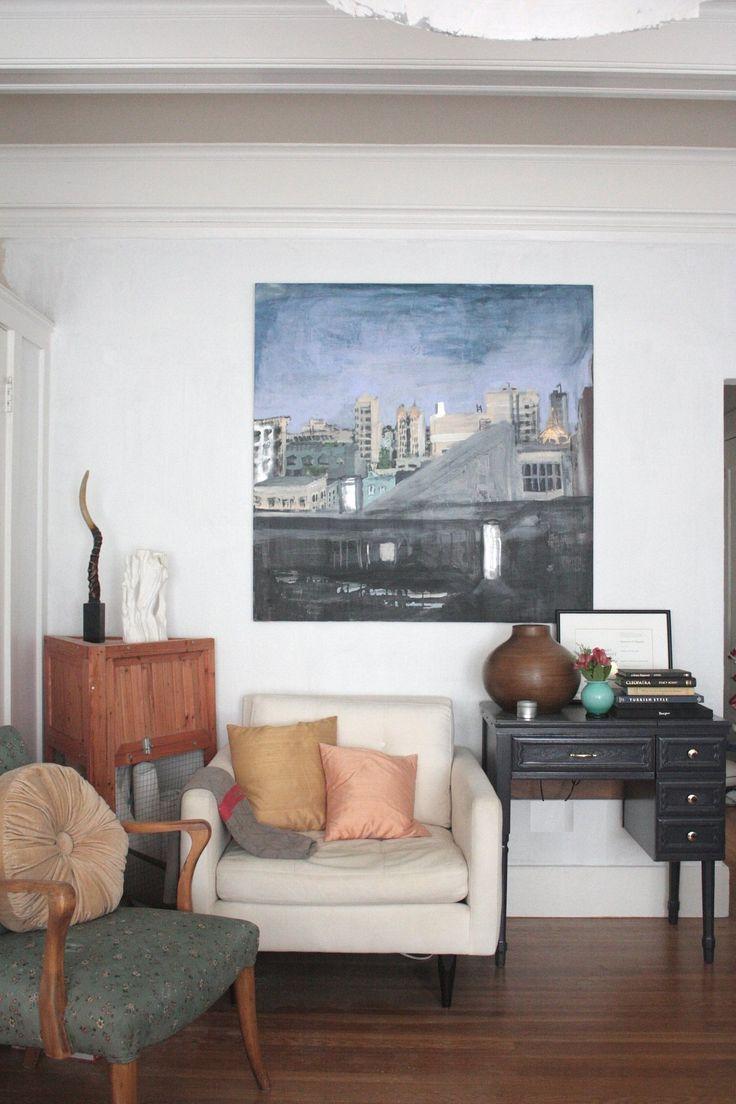Bronwyns Small San Francisco Studio Living Room Ideas Apartment Design Furniture