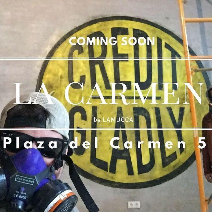 """Muy pronto.... en La Plaza del Carmen 5. Estad atentos pronto os daremos noticias del este nuevo proyecto """"by Lamucca"""""""
