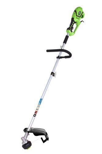 Greenworks Tools 1200W Débroussailleuse et Coupe-bordure électrique 2-en-1