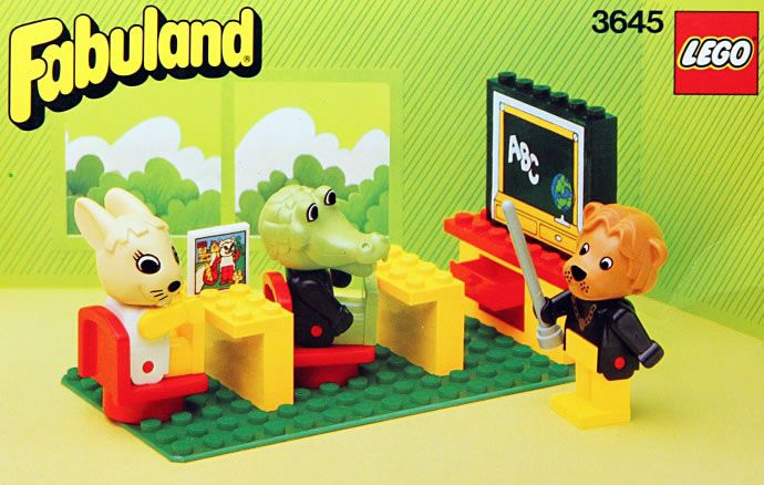 LEGO Fabuland School Set