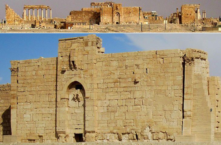 Arab bastion/temple of Bel