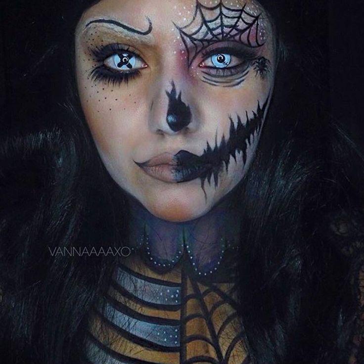 maquillage halloween usa