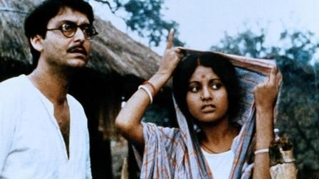 Satyajit Ray's drama about the Bengal famine of 1942-1943 stars frequent Ray collaborator Soumitra Chatterjee as Gangacharan, a Brahmin who sets up a school in a remote Bengali village.
