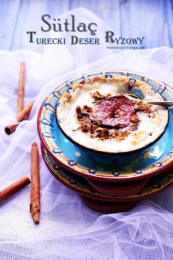 Sütlaç czyli turecki budyń ryżowy