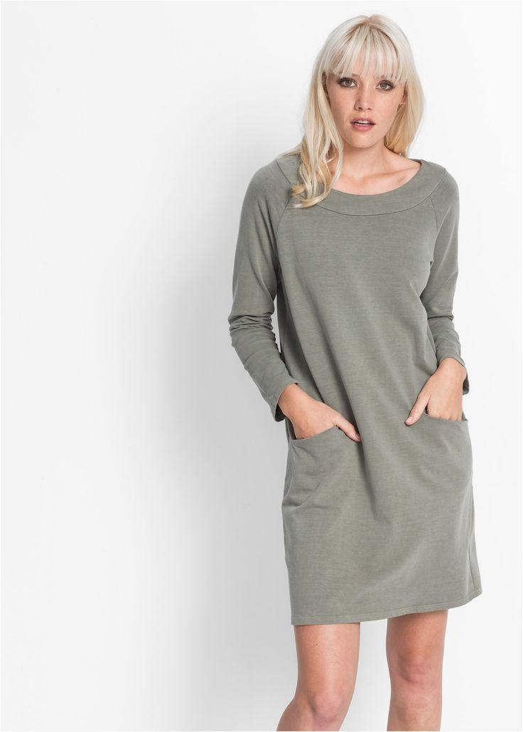 Shirtjurk olijfgroen - RAINBOW nu in de onlineshop van bonprix.nl vanaf ? 39.99 bestellen. Mooie shirtjurk met grote zakken en losjes model.