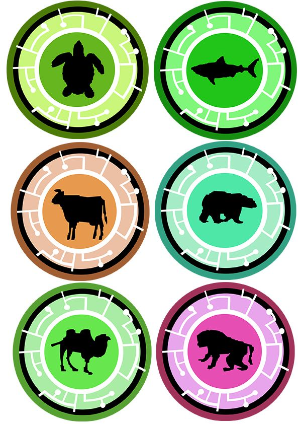 image about Wild Kratts Creature Power Discs Printable called Wild Kratts Creature Discs Printable Quotations of the Working day