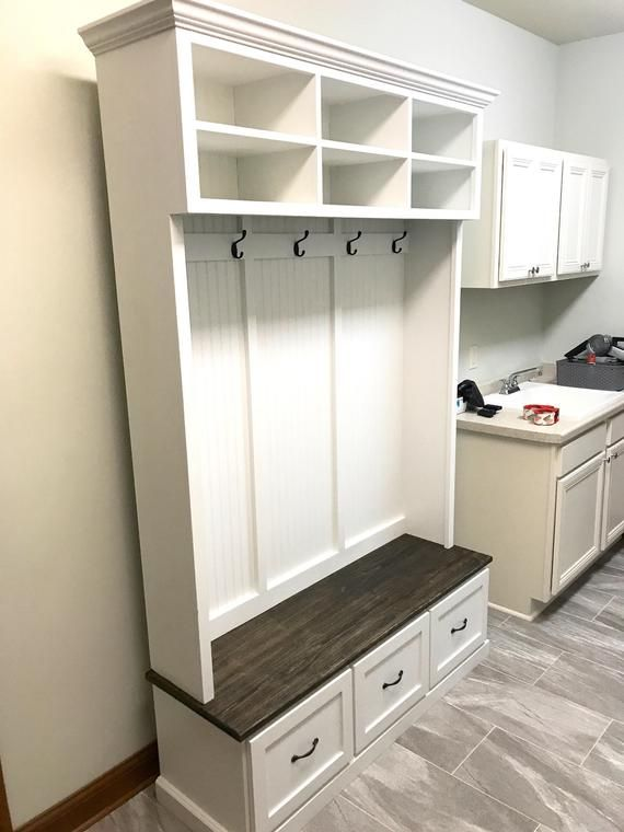 The Amana 2 Section Hall Tree With Storage Etsy Entryway Shoe Storage Entryway Bench Storage Shoe Storage Bench Entryway Hall tree with shoe storage