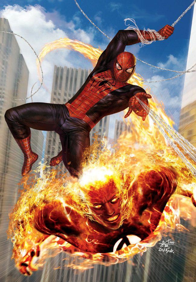 ArtStation - Amazing Spider-Man (2013), In-Hyuk Lee