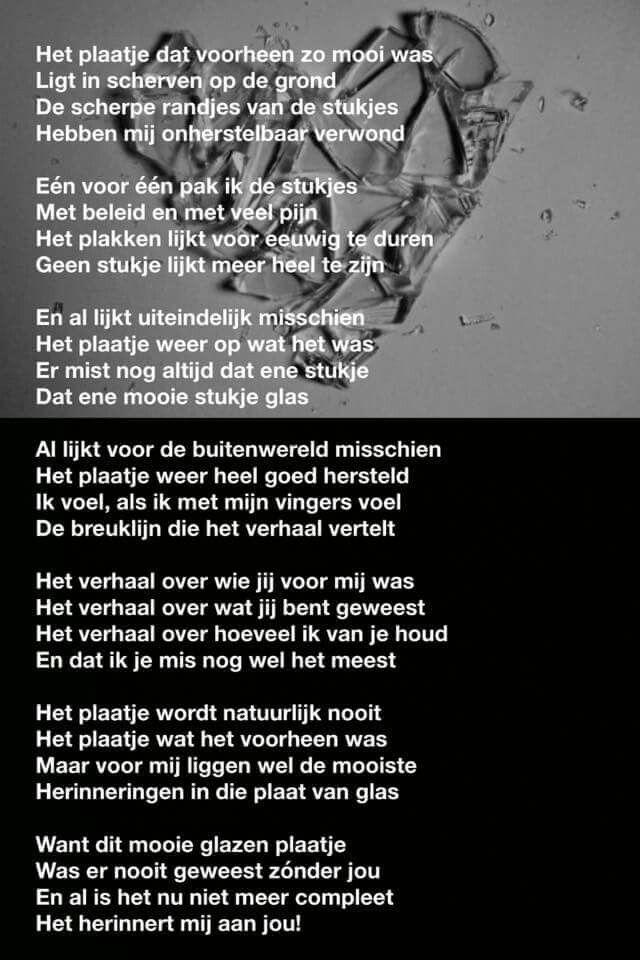 Verlies rouw verdriet gedicht  Mooie Teksten  Pinterest
