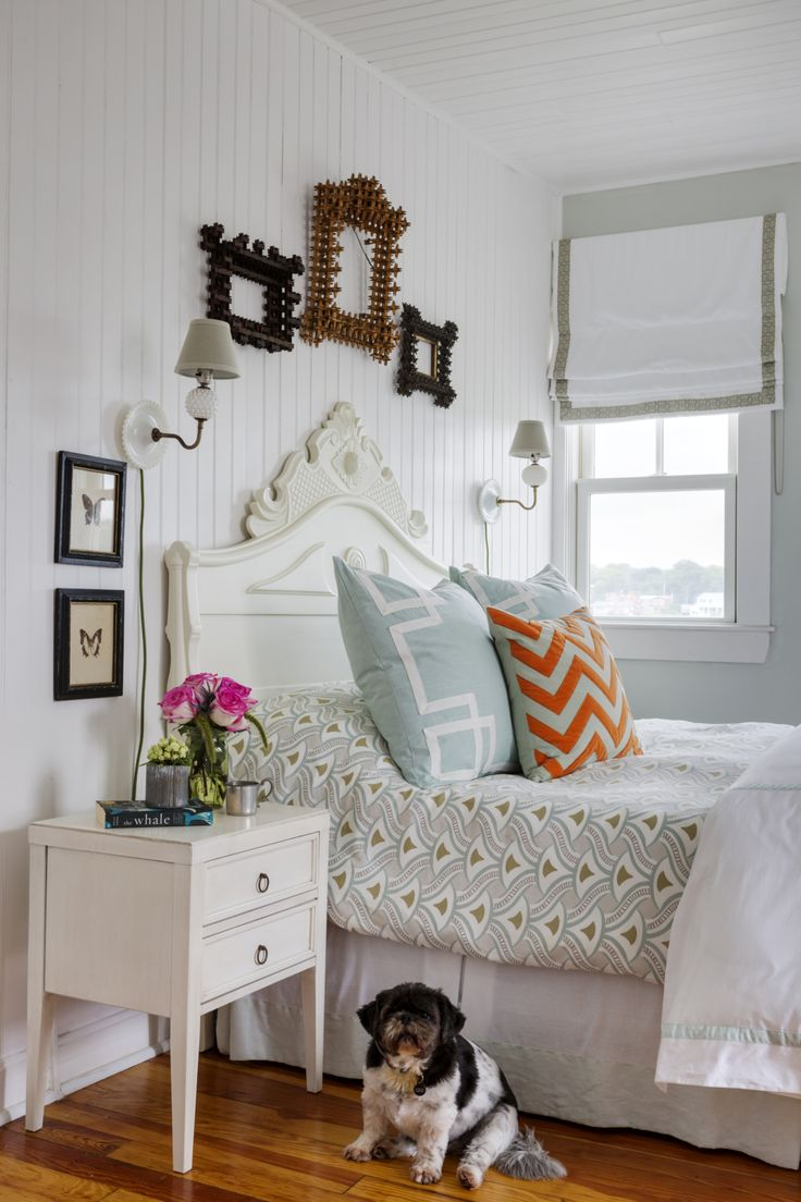 Eclectic Beach House Bedroom