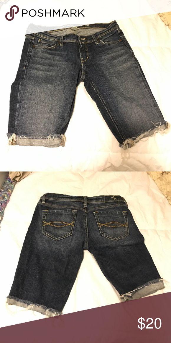 Abercrombie jean cut offs Good condition A&F city off jean shorts Abercrombie & Fitch Pants
