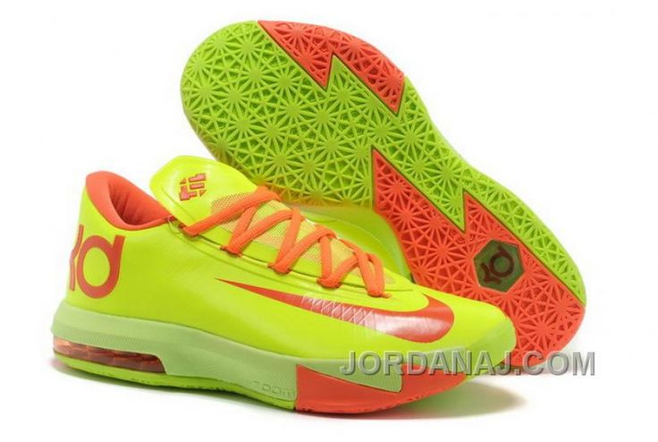best sneakers b066a 6ad6b Summer Fall Cheap Nike KD VI 6 Shoes For Sale Chrome Yellow Teal Navy 599424  700