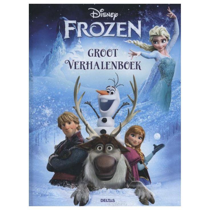Disney Frozen Groot Verhalenboek.