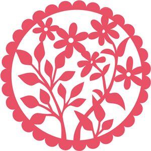 Силуэт Интернет-магазин: цветы ромашки салфетка кружева