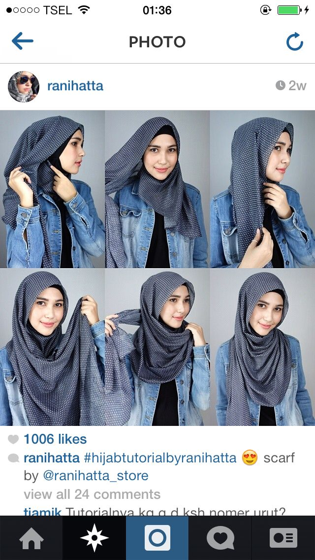 My fav style from @ranihatta. So easy!