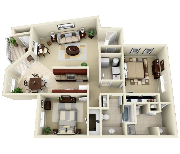 Luxury 1 2 And 3 Bedroom Apartments In Indianapolis In Indianapolis Indiana Apartment Steadfast Apartment Floor Plans Sims House Sims House Design
