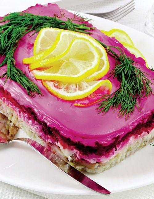 Salata ruseasca de hering | Retete culinare - Romanesti si din Bucataria internationala