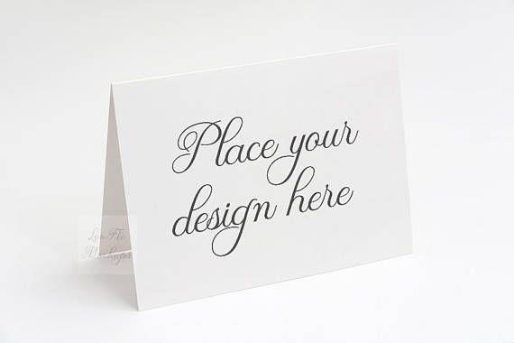 A2 Greeting Card Mockup Invitation Mockup 5 5 X 4 25 Etsy Invitation Mockup Design Mockup Free Free Psd Mockups Templates