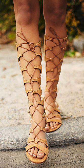 Tall Gladiator Sandals