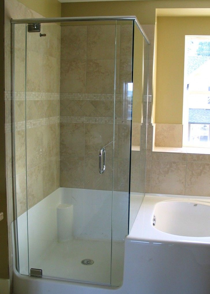 Amazing Corner Shower Doors Glass and Its Variation: Drop Dead Gorgeous Corner Glass Shower Doors : tile door - Pezcame.Com