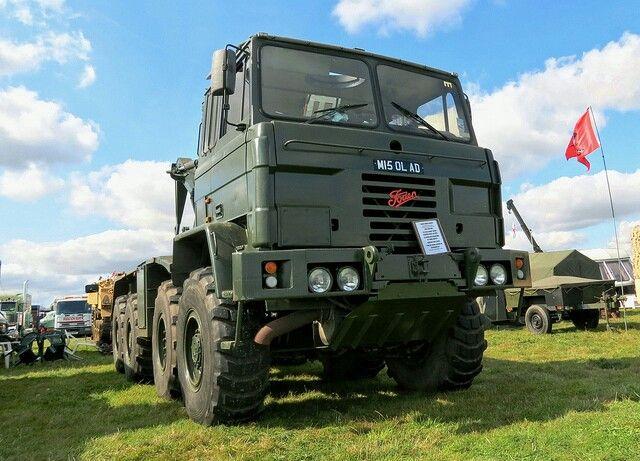 British Army Foden Truck