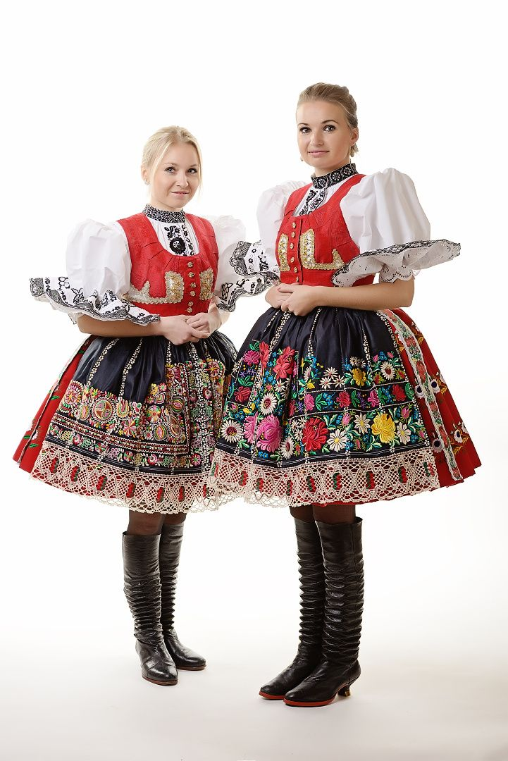 Czech folk costumes