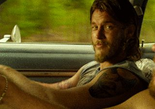 The Baytown Outlaws - Travis Fimmel - I hate when he does that thing with his mouth...well, honestly... LOVE and hate :)