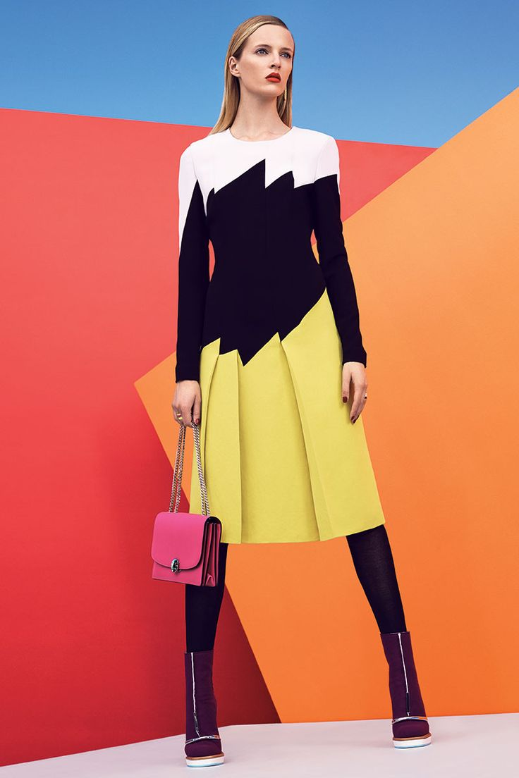 The Best And The Brightest Color Blocking Fashion Editorials And Inspiration