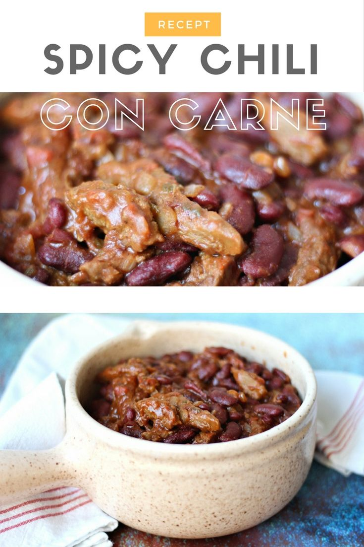 Recept | Spicy Chili con Carne