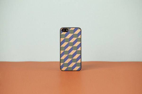 Wood'd Cover iPhone - cube -