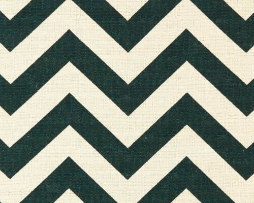 CLAIRANCE texturé tissu - Premier imprime Zig Zag bouleau bleu marine Chevron - tissu de gauche Yard-Titan Home Decor - 3 mètres